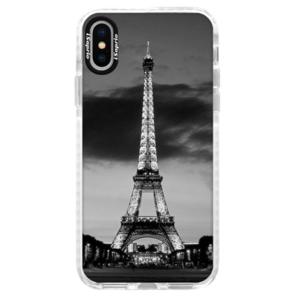 Silikonové pouzdro Bumper iSaprio - Midnight in Paris - iPhone X