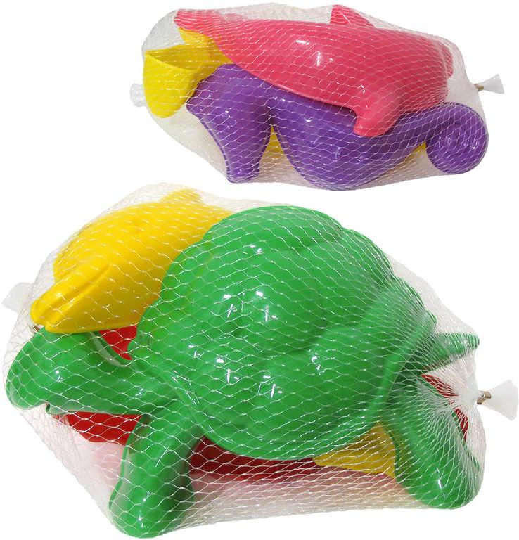 PL Formičky na písek dětské bábovičky mořský svět set 3ks mix barev