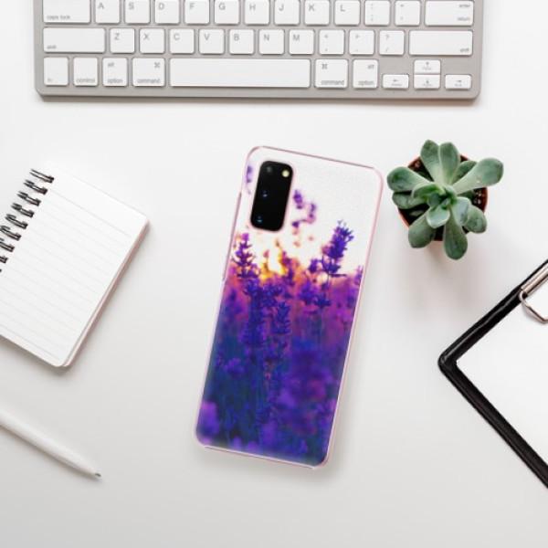 Plastové pouzdro iSaprio - Lavender Field - Samsung Galaxy S20