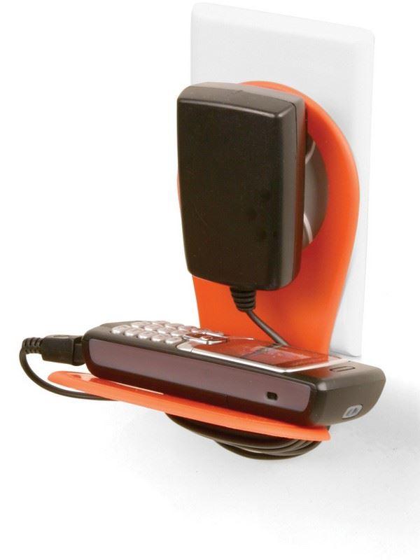 Držák mobilu - oranžový
