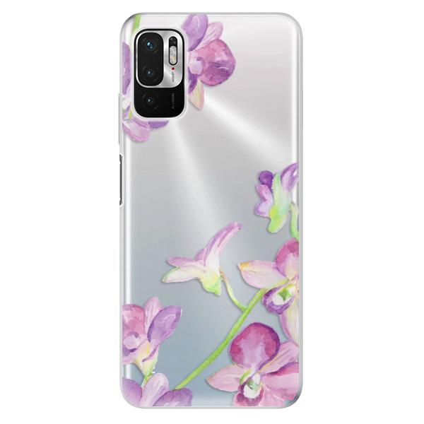 Odolné silikonové pouzdro iSaprio - Purple Orchid - Xiaomi Redmi Note 10 5G