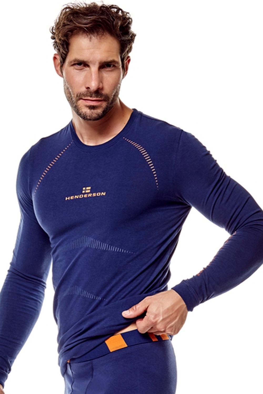 Pánské tričko 22969 Skin blue - Tmavě modrá/XL