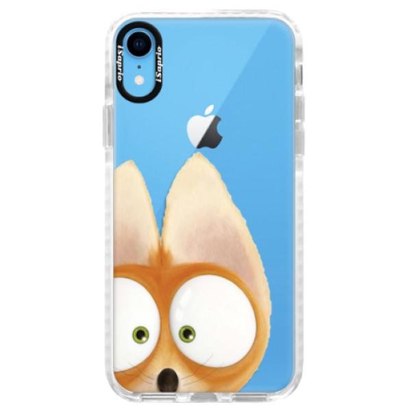 Silikonové pouzdro Bumper iSaprio - Fox 02 - iPhone XR