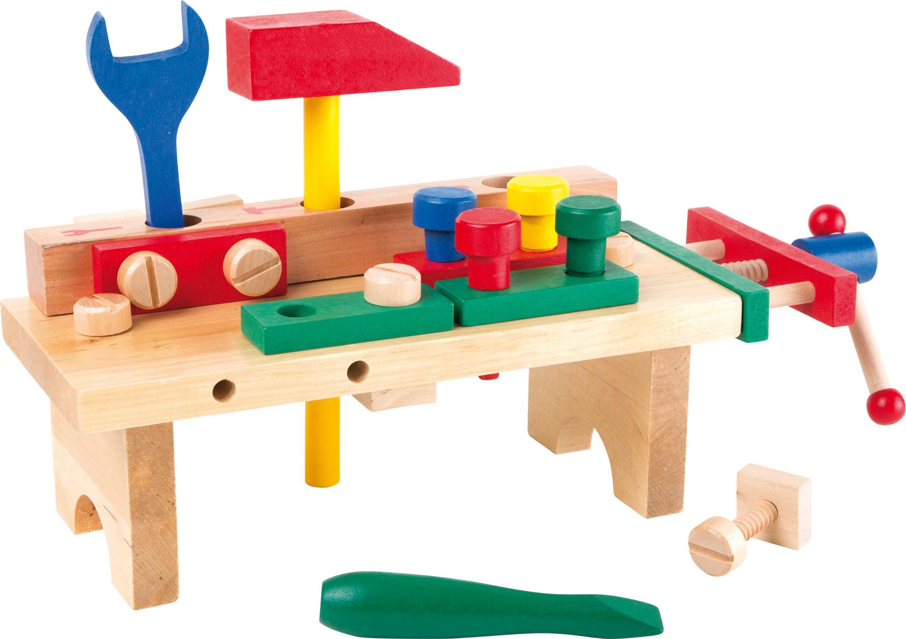 Small Foot Ponk pracovní stůl s nářadím