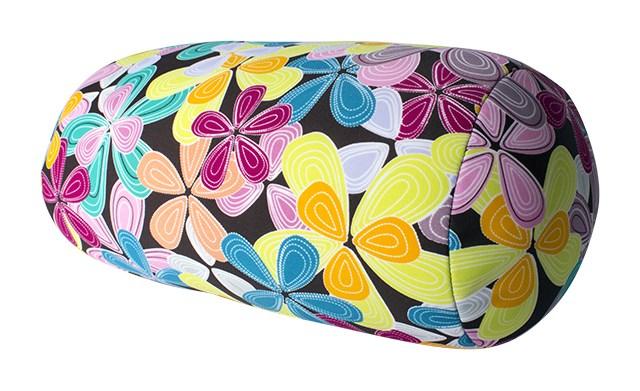 ALBI - Polštář s barevnými květy