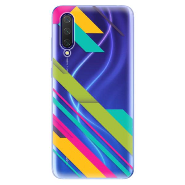 Odolné silikonové pouzdro iSaprio - Color Stripes 03 - Xiaomi Mi 9 Lite