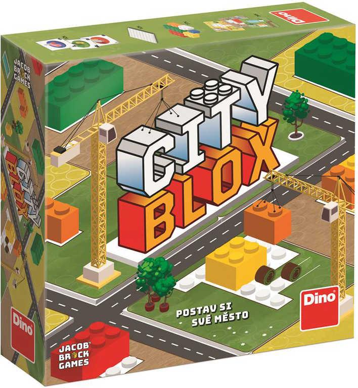 DINO Hra City Blox *SPOLEČENSKÉ HRY*