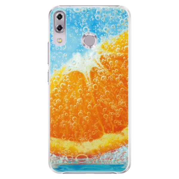 Plastové pouzdro iSaprio - Orange Water - Asus ZenFone 5Z ZS620KL