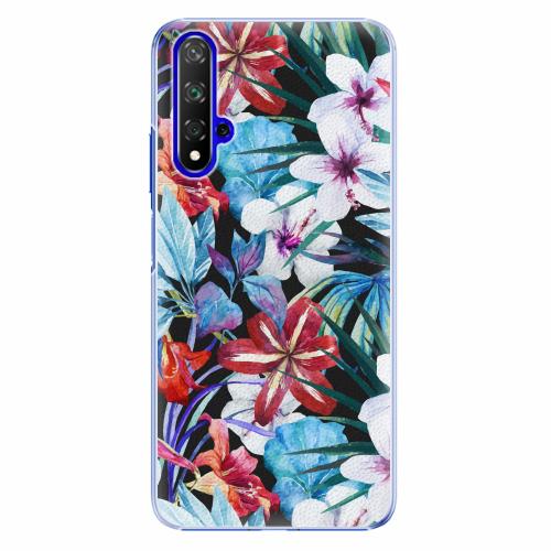Plastový kryt iSaprio - Tropical Flowers 05 - Huawei Honor 20