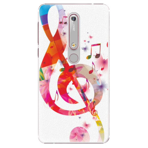 Plastové pouzdro iSaprio - Love Music - Nokia 6.1