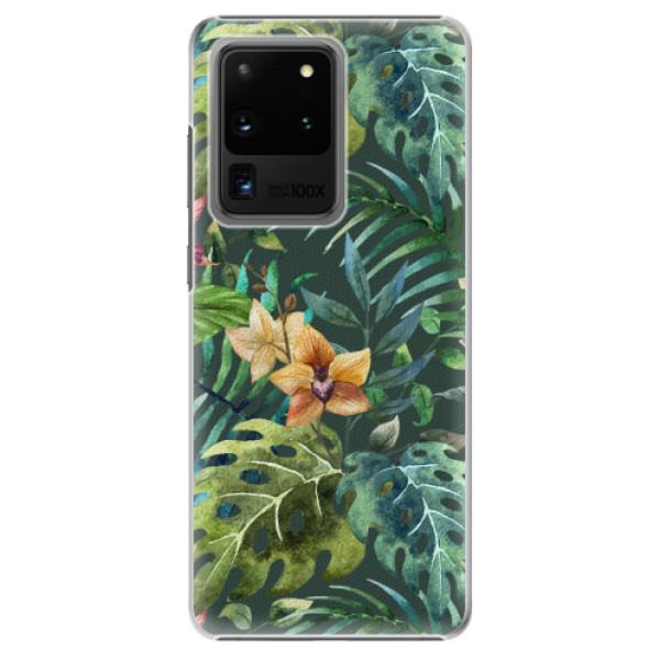 Plastové pouzdro iSaprio - Tropical Green 02 - Samsung Galaxy S20 Ultra