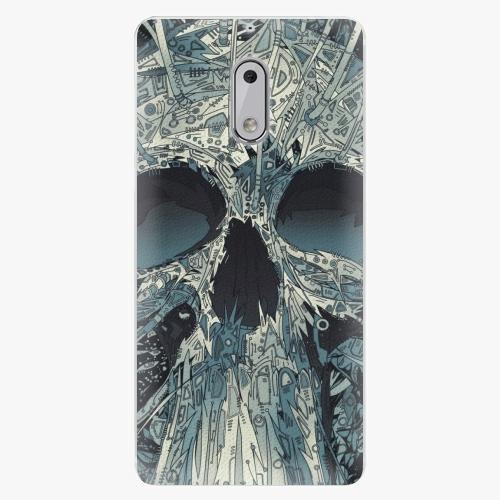 Plastový kryt iSaprio - Abstract Skull - Nokia 6