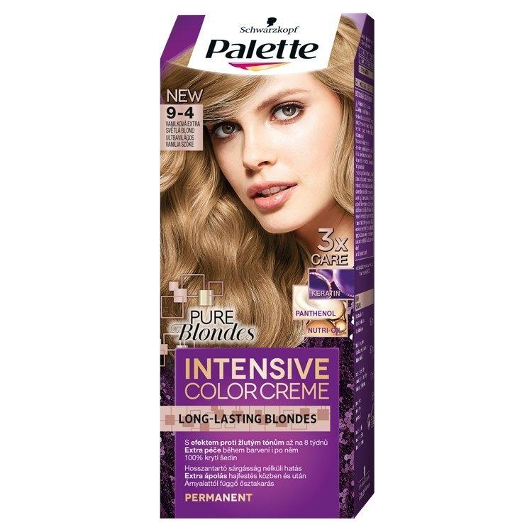 Schwarzkopf Intensive Color Creme barva na vlasy Vanilková Extra Světlá Blond 50 ml (9-4)
