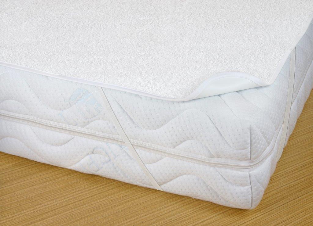 Chránič matrace nepropustný a prodyšný 90x220cm PU+froté