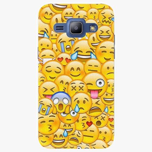 Plastový kryt iSaprio - Emoji - Samsung Galaxy J1