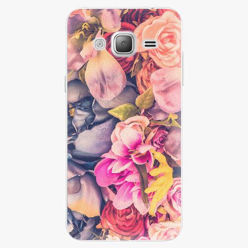 Plastový kryt iSaprio - Beauty Flowers - Samsung Galaxy J3 2016