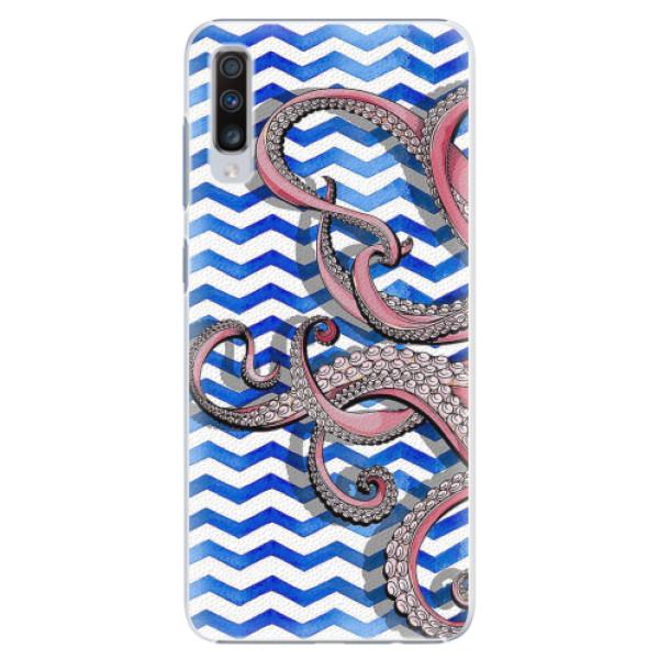 Plastové pouzdro iSaprio - Octopus - Samsung Galaxy A70