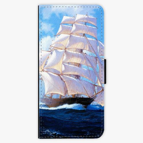 Flipové pouzdro iSaprio - Sailing Boat - Samsung Galaxy S8 Plus