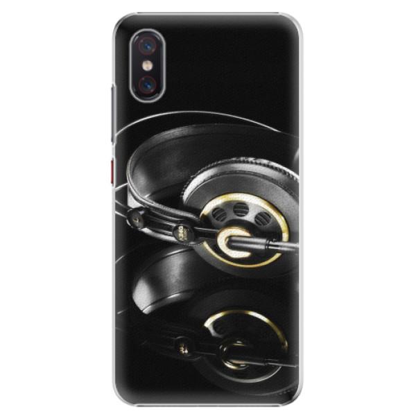 Plastové pouzdro iSaprio - Headphones 02 - Xiaomi Mi 8 Pro