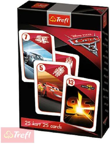 TREFL HRA Karetní Černý Petr Cars 3 (Auta) *SPOLEČENSKÉ HRY*