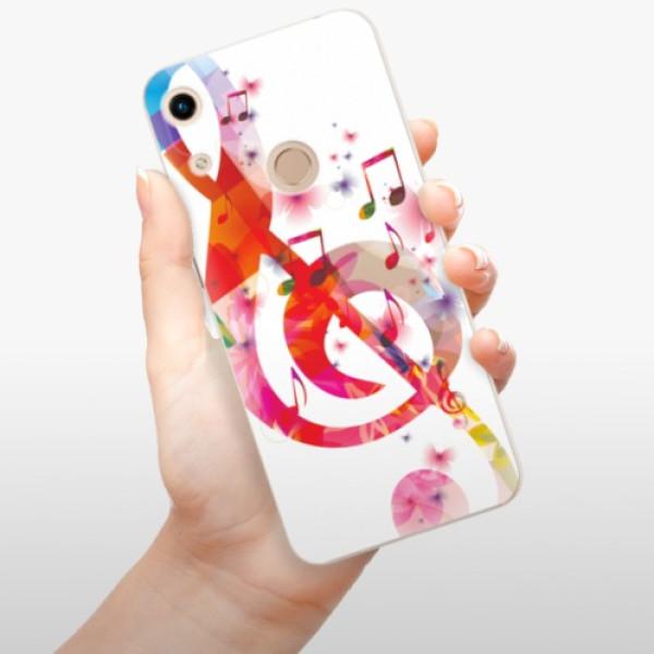 Odolné silikonové pouzdro iSaprio - Love Music - Huawei Honor 8A