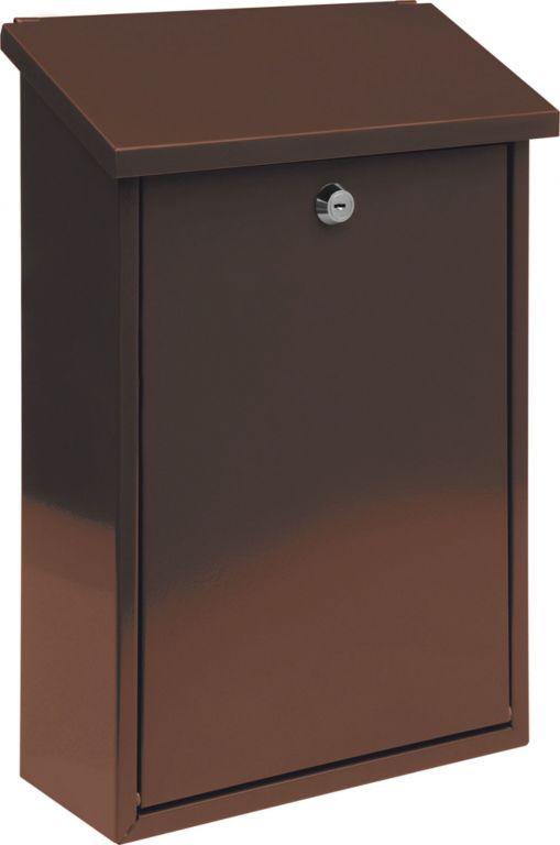 Poštovní schránka - hnědá