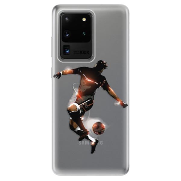 Odolné silikonové pouzdro iSaprio - Fotball 01 - Samsung Galaxy S20 Ultra