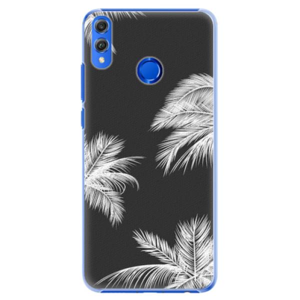 Plastové pouzdro iSaprio - White Palm - Huawei Honor 8X