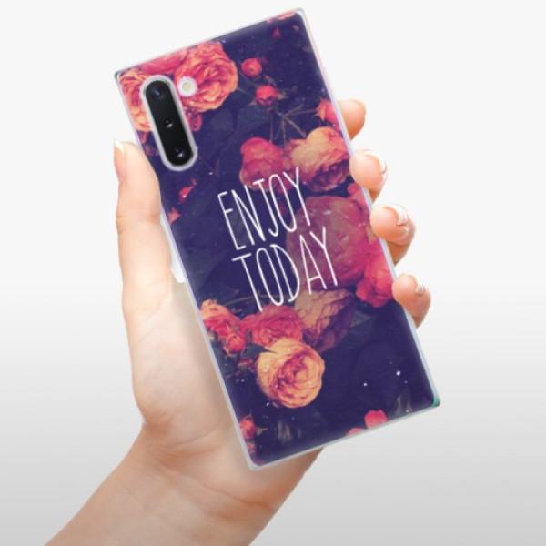 Odolné silikonové pouzdro iSaprio - Enjoy Today - Samsung Galaxy Note 10