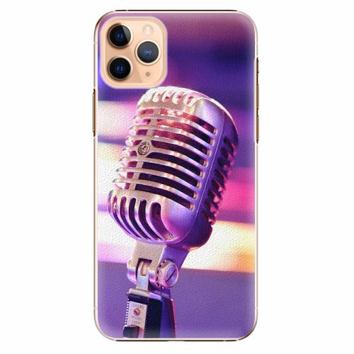 Plastový kryt iSaprio - Vintage Microphone - iPhone 11 Pro Max