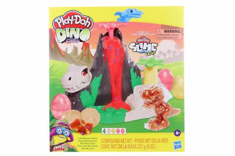Play-Doh Ostrov lávových kostí