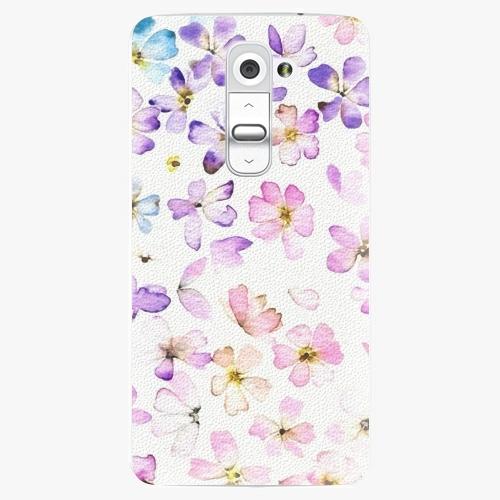 Plastový kryt iSaprio - Wildflowers - LG G2 (D802B)