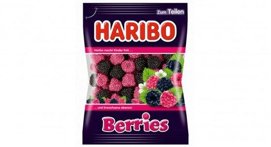 Berries želé s ovocnou příchutí 100g