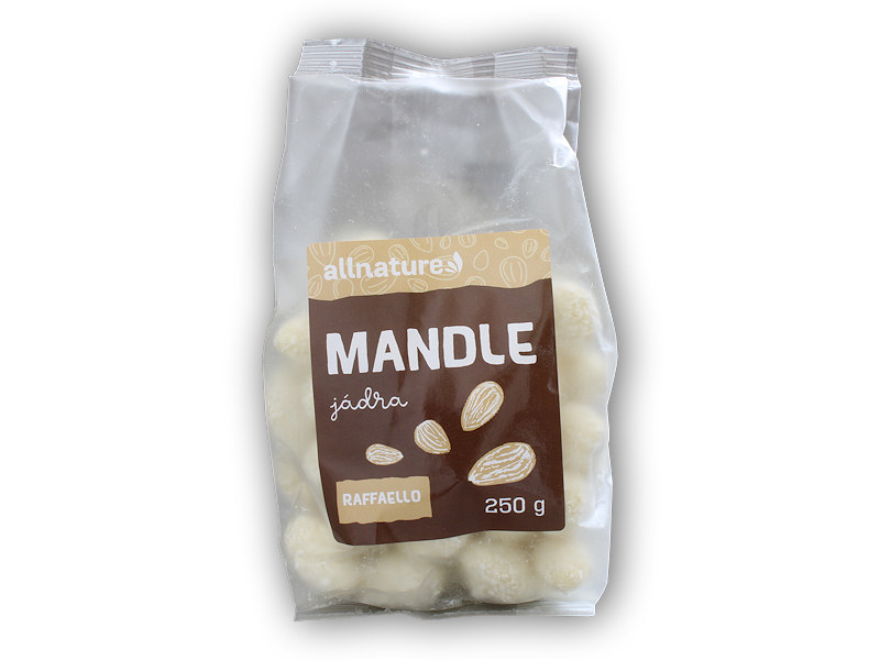 Mandle jádra raffaello 250g