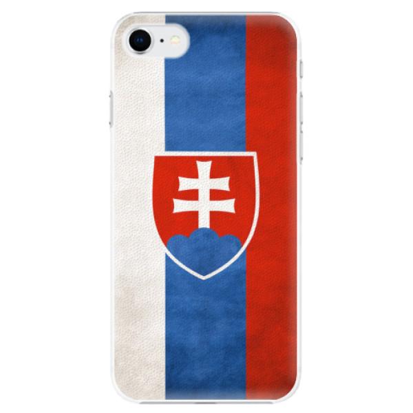 Plastové pouzdro iSaprio - Slovakia Flag - iPhone SE 2020
