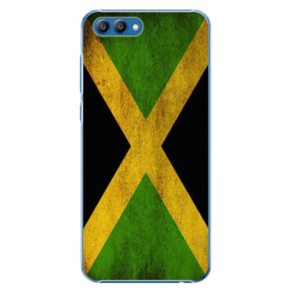 Plastové pouzdro iSaprio - Flag of Jamaica - Huawei Honor View 10