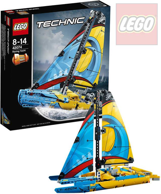 LEGO TECHNIC Závodní jachta 2v1 STAVEBNICE 42074