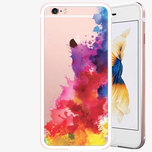 Plastový kryt iSaprio - Color Splash 01 - iPhone 6/6S - Rose Gold