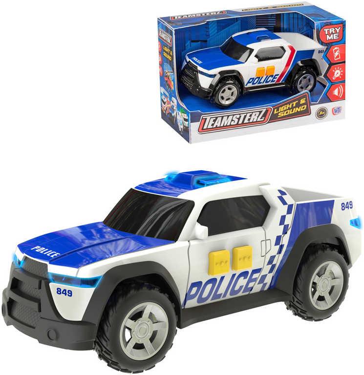 Teamsterz autíčko 16 cm pickup policejní zásahové na baterie - 2 druhy