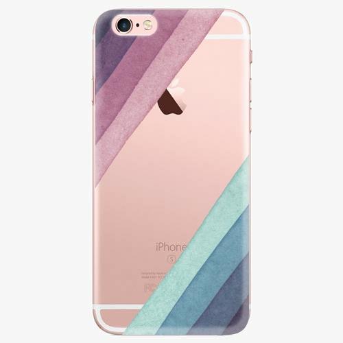 Silikonové pouzdro iSaprio - Glitter Stripes 01 - iPhone 7